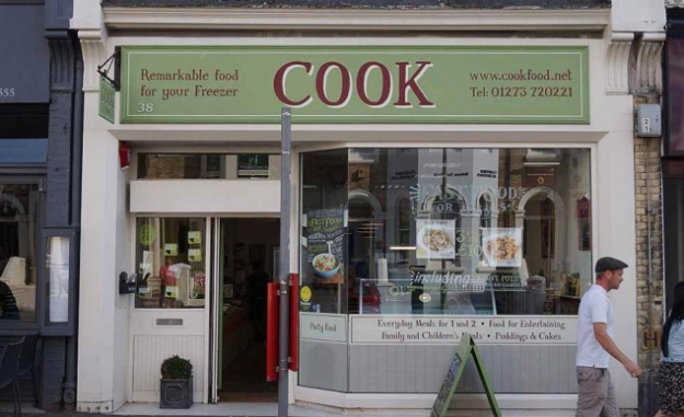 Tienda Vintage Cook Comida Gourmet Congelada